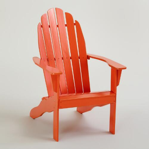 Spicy Orange Classic Adirondack Chair