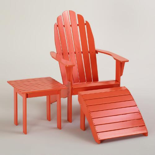 Spicy Orange Classic Adirondack Collection