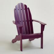 Magenta Purple Classic Adirondack Chair
