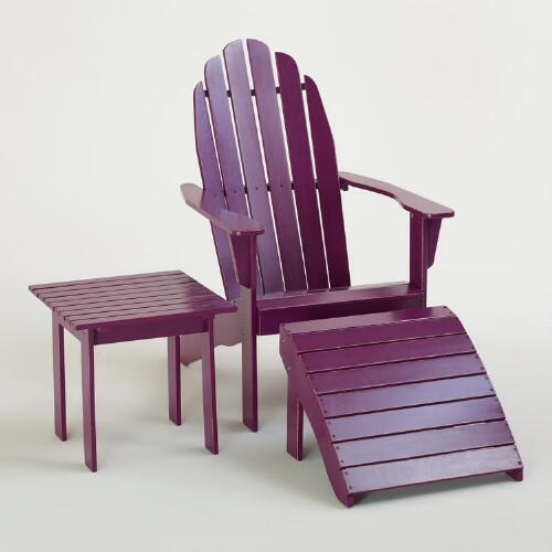 Magenta Purple Classic Adirondack Collection