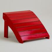 Formula One Red Classic Adirondack Stool