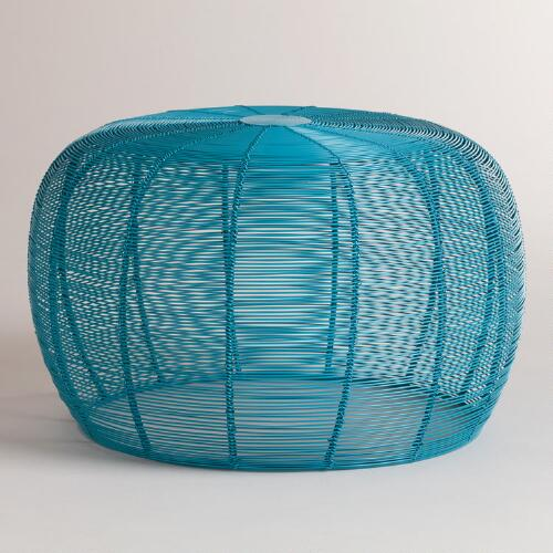 Pagoda Blue Lola Wired Stool
