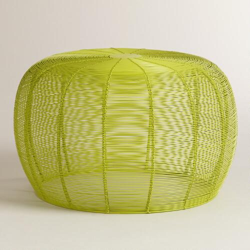 Lime Green Lola Wired Stool