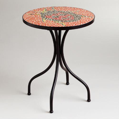 Ladybug Cadiz Mosaic Accent Table