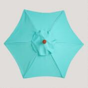 5' Blue Turquoise Umbrella