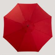 9' Formula One Red Umbrella
