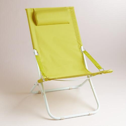Apple Green Beach Chair