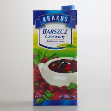 Krakus Red Borscht Soup, Set of 6