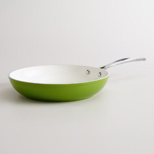 "10"" Green Non-Stick Eco Skillet"