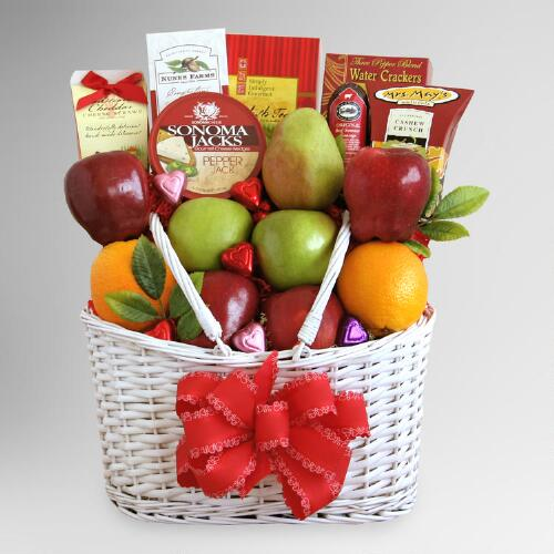 Healthy Hearts Valentine Gift Basket