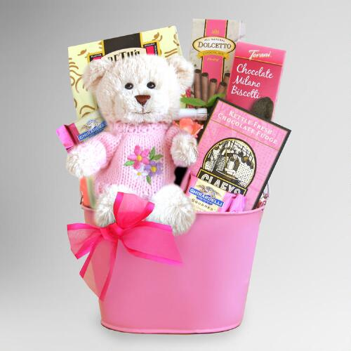 Sweet Valentine Bear Hugs Gift Basket