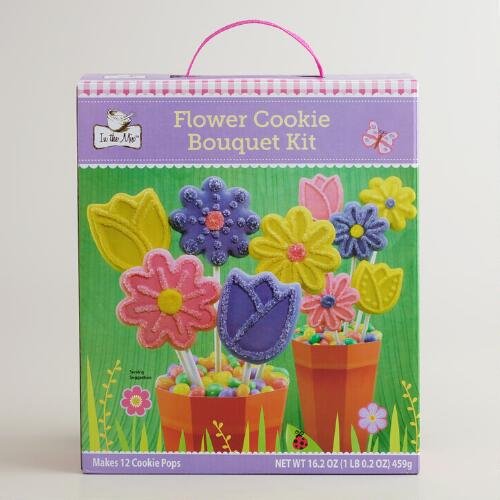 Flower Pot Cookie Pops Kit