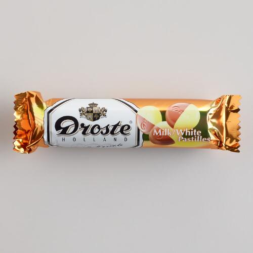 Droste Milk and White Chocolate Pastilles