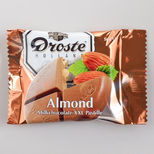 Droste Extra-Large Milk Chocolate Almond Pastille