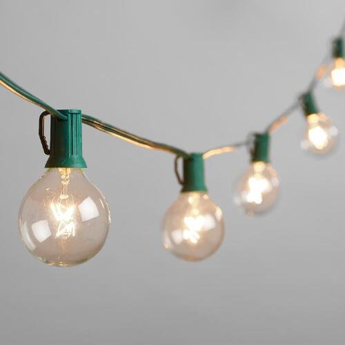 Clear Bulb String Lights