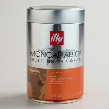 Illy MonoArabica Ethiopia Whole Bean Coffee