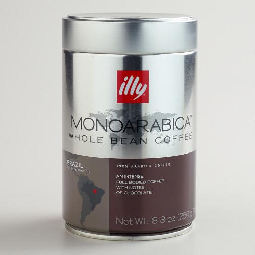 Illy MonoArabica Brazil Whole Bean Coffee