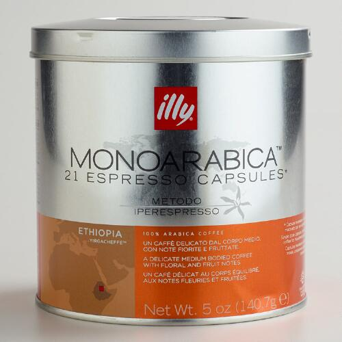 Illy MonoArabica Ethiopia IperEspresso Capsules
