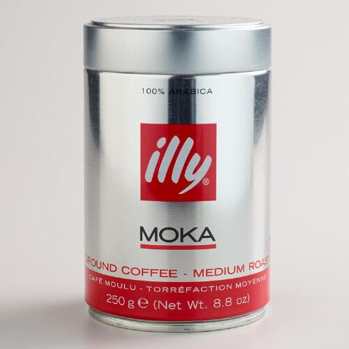 Illy Ground Moka Coffee