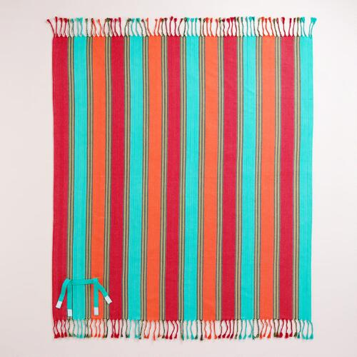 Wide Stripe Picnic Blanket