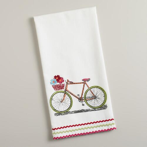 Basket Cruiser Tea Towel