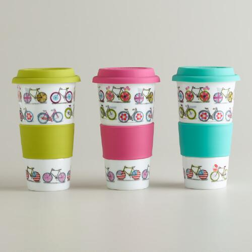 Bicycle Non-Paper Cups