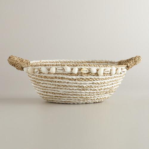 Seagrass Rafia Bowl