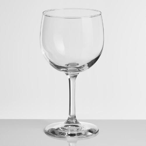Madison Red Wine Glasses, Set of 6