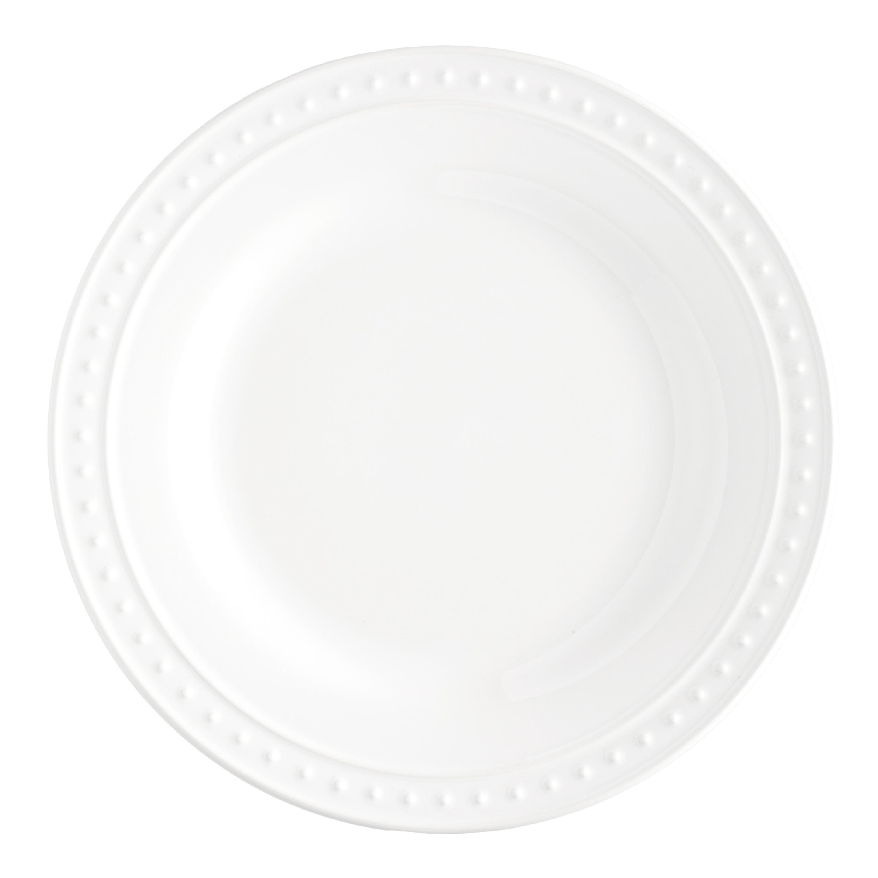 White Nantucket Dinner Plates Set Of 4 Dinner Plate EBay