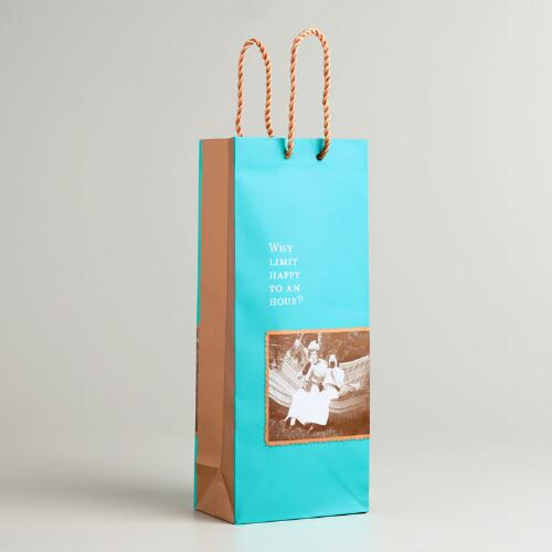 "Shannon Martin ""Happy Hour"" Wine Bag"