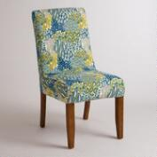 Feather Blue Anna Chair Slipcover