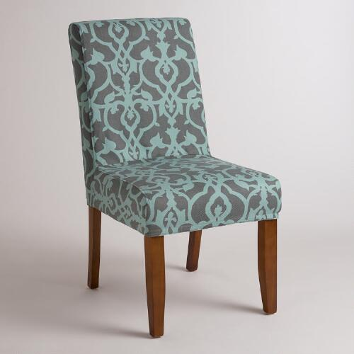 Timbercove Blue Anna Chair Slipcover