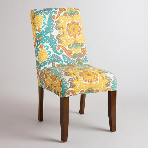 Paisley Anna Chair Slipcover