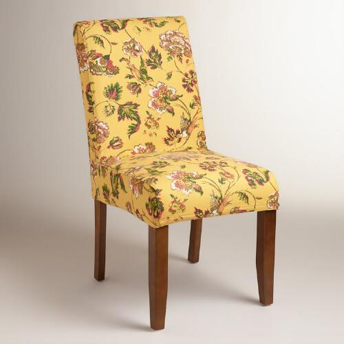 Indochine Floral Anna Chair Slipcover