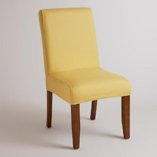 Yellow Anna Chair Slipcover