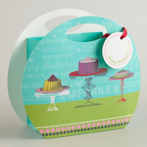 Round Puddings Birthday Tote Gift Bag