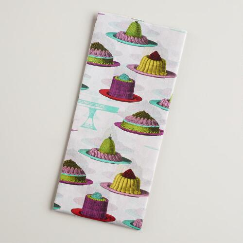 Puddings Birthday Tissue Paper