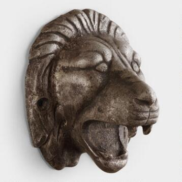 Lion Wall-Mounted Bottle Opener