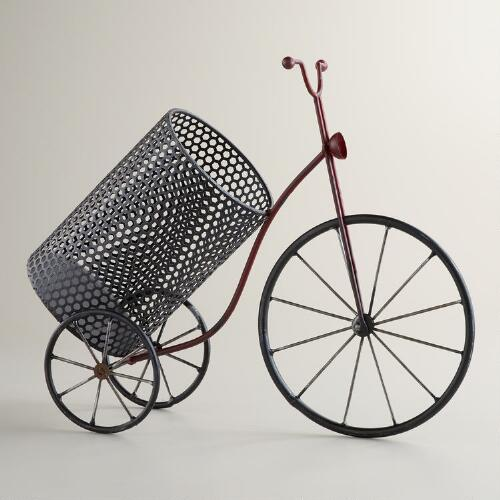 Red Bicycle Wine Holder