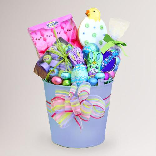 Easter Surprises Bunny Gift Bucket