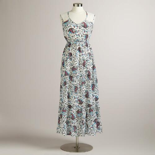 Paisley Millia Dress with Lace