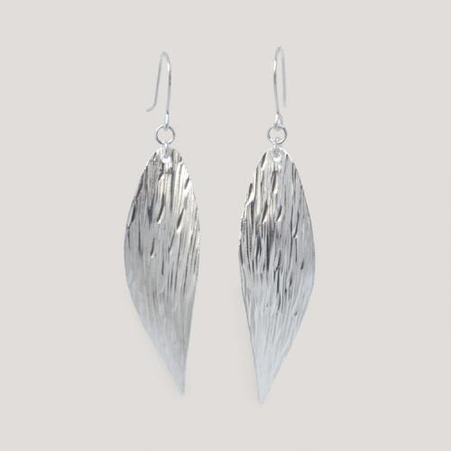 Novica Snow Wind Sterling Silver Dangle Earrings