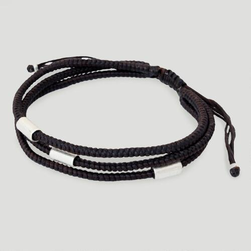 Novica Hill Tribe Braided Friend Bracelet