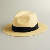 Black Ribbon Havana Hat