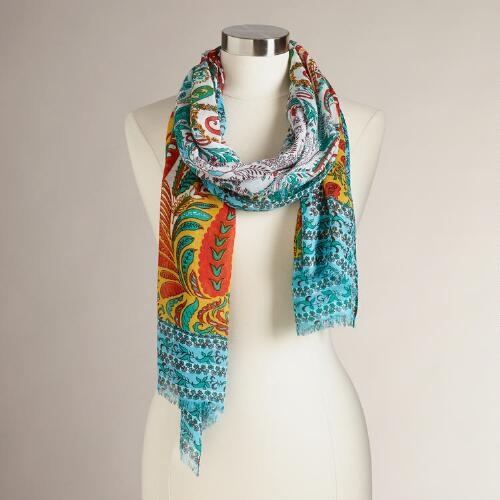 Yellow Jaipur Scarf