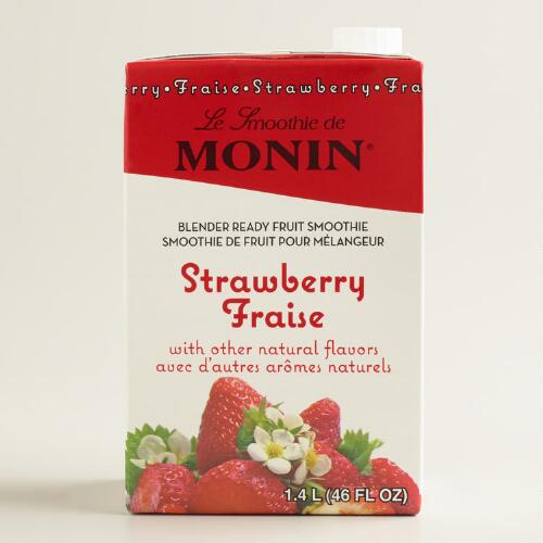 Monin Strawberry Smoothie Mix