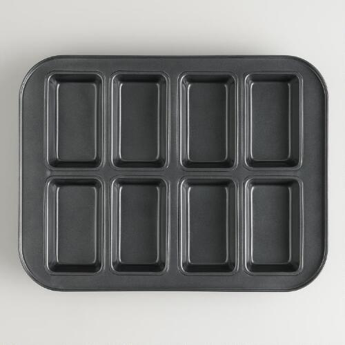 8-Mold Mini Loaf Pan