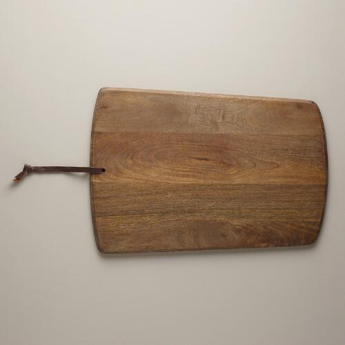 Mango Wood Rectangular Cutting Board