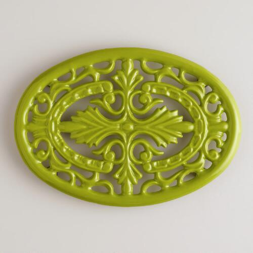 Chive Cast Iron Trivet