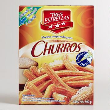 Tres Estrellas Churro Mix, Set of 2